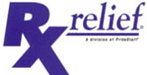 RxRelief Logo- Pharmacy Temp Staffing Services